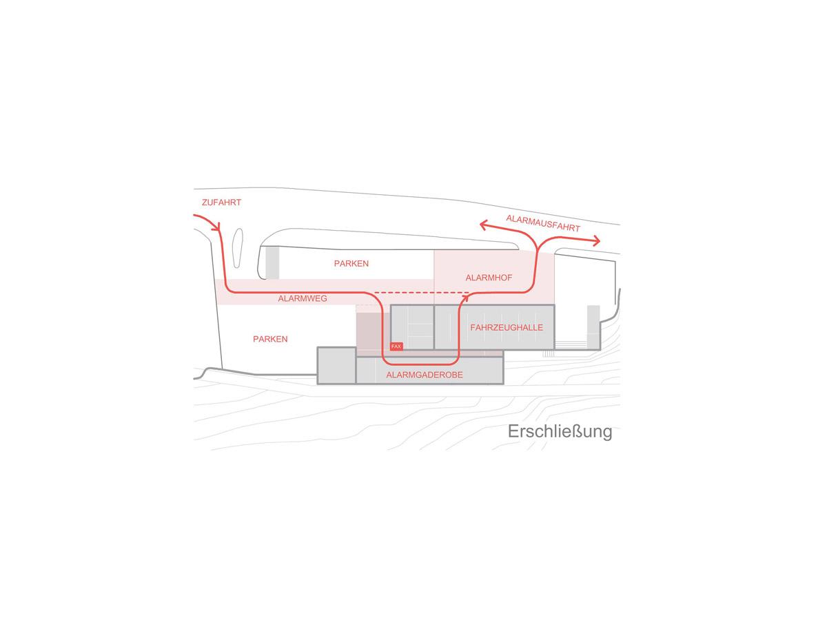 Feuerwehrhaus Keltern  Architektur: Klinkott Architekten Kaiserstraße 235 76133 Karlsruhe www.klinkott-architekten.de