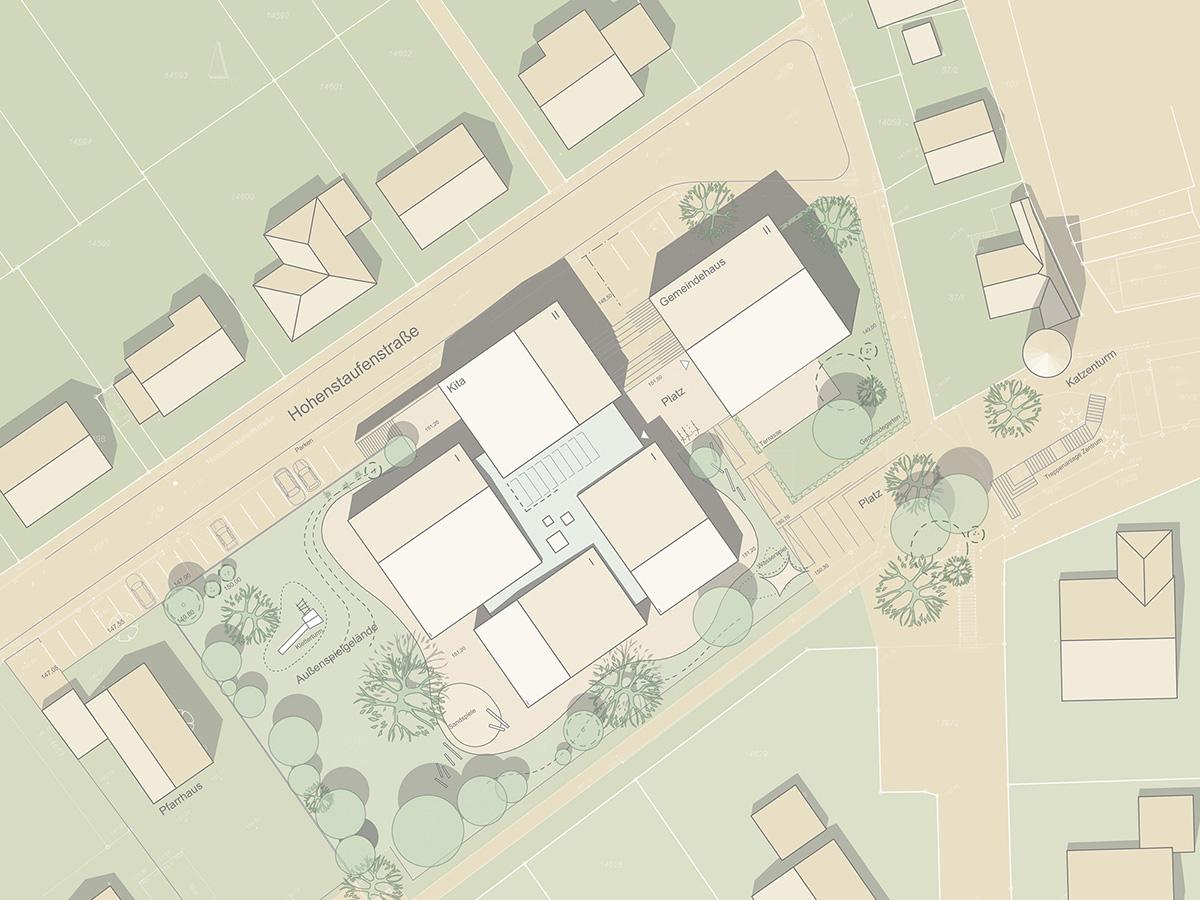 Gemeindehaus + Kita Heidelsheim