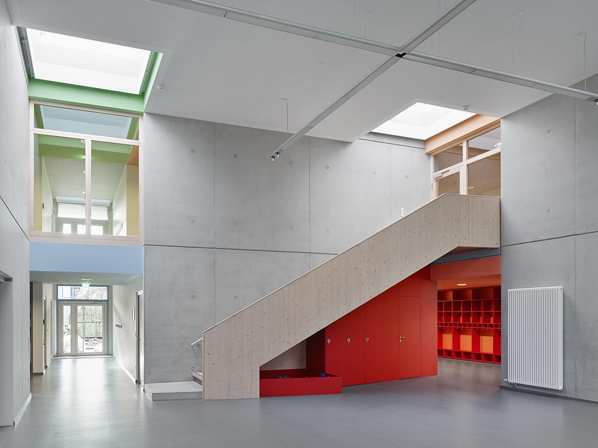 neubau kinderhaus merlin  architektur klinkott architekten yorckstraße 43 76185 karlsruhe www.klinkott-architekten.de